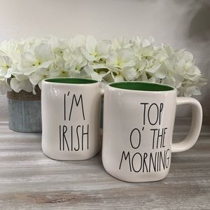 Rae Dunn Other - Rae Dunn St Patrick's Day Mugs (2)